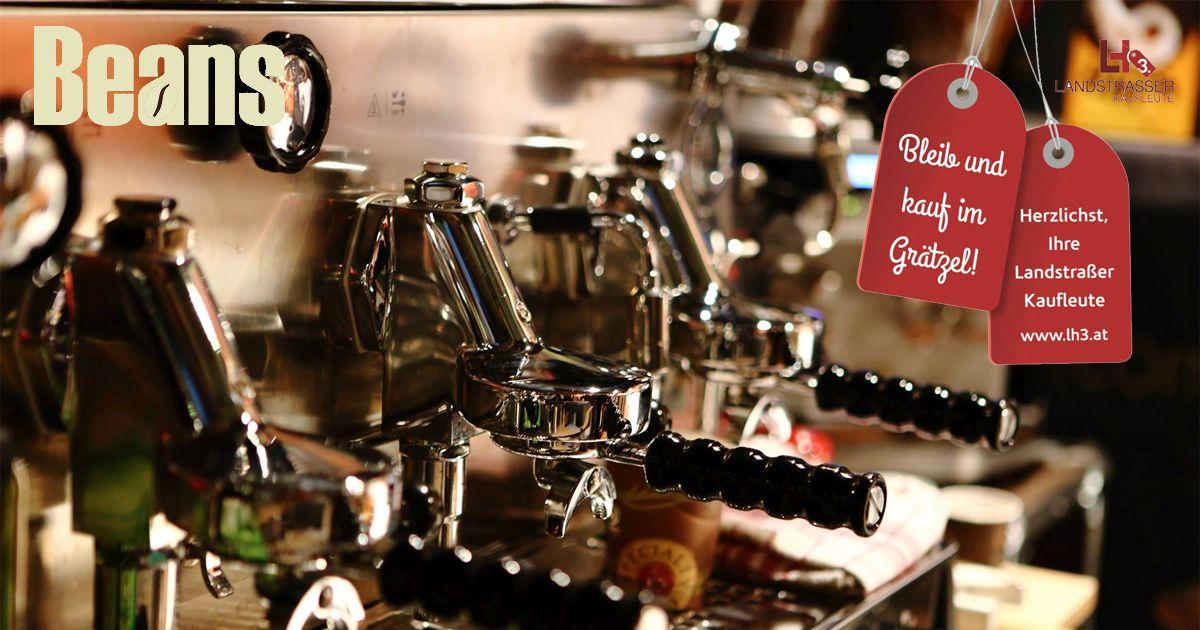 Beans Kaffespezialitäten Landstraßer Kaufleute LH3.at